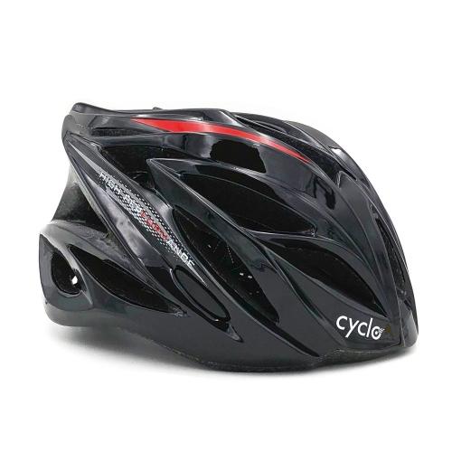 Κράνος ενηλίκων Cyclo high performance μαύρο Δαλαβίκας bikes