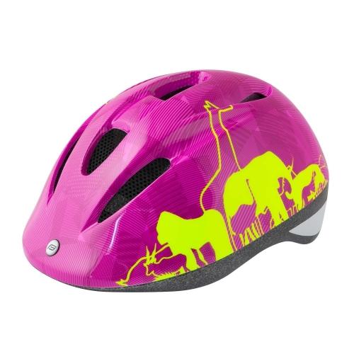 Κράνος Force παιδικό Animals Ροζ / Κίτρινο Δαλαβίκας bikes