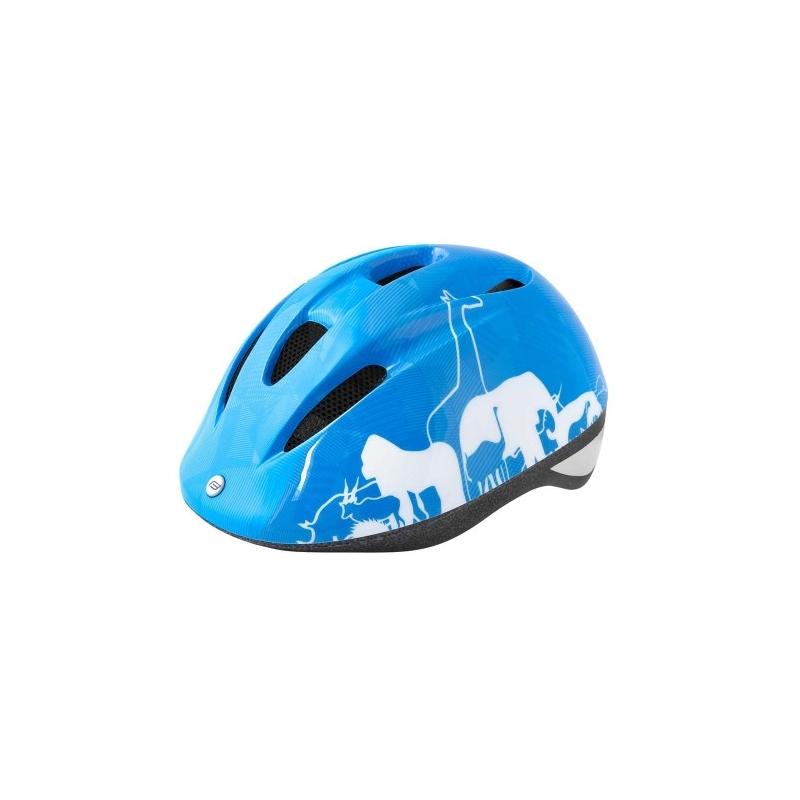 Κράνος Force παιδικό Animals μπλε λευκό Dalavikas bikes