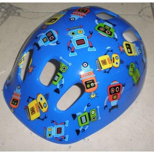 Κράνος παιδικό Moon MV6-2 Blue (Robot) Δαλαβίκας bikes