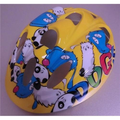 Κράνος παιδικό Moon MV6-2 Yellow (Puppy) Δαλαβίκας bikes