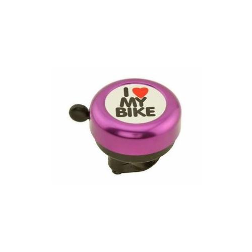 Κουδούνι ποδηλάτου I love my bike φούξια