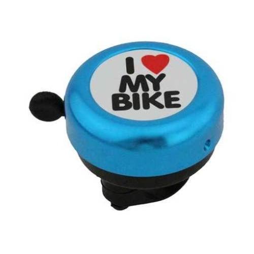 Κουδούνι ποδηλάτου I love my bike μπλε