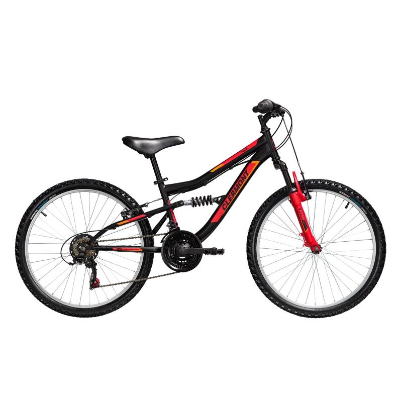 Clermont Pamir 24' παιδικό ποδήλατο ΜΤΒ full Suspension, Shimano Dalavikas bikes