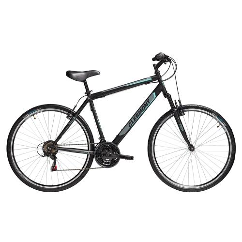 Clermont Stylous 28' ποδήλατο Trekking, μαύρο ματ Δαλαβίκας bikes