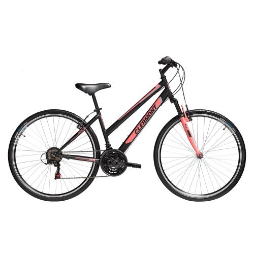 Clermont Senso 28' ποδήλατο Trekking, μαύρο ματ Δαλαβίκας bikes