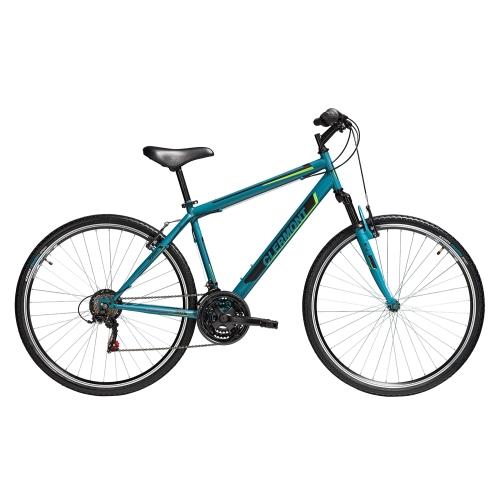 Clermont Stylous 28' ποδήλατο Trekking, πράσινο ματ Δαλαβίκας bikes