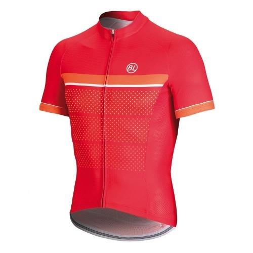 Μπλούζα Bicycle Line με κοντό μανίκι Sanremo - Κόκκινη. Δαλαβίκας bikes