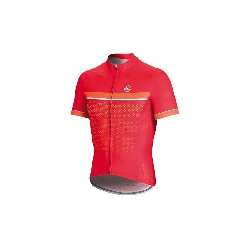 Μπλούζα Bicycle Line με κοντό μανίκι Sanremo - Κόκκινη. Dalavikas bikes