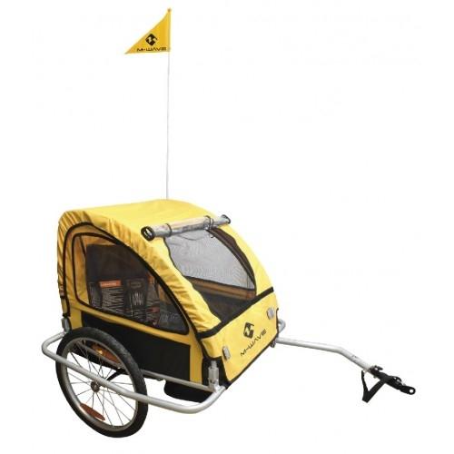 Τρέιλερ για την μεταφορά Παιδιών ή Αποσκευών M-Wave Alloy Δαλαβίκας bikes