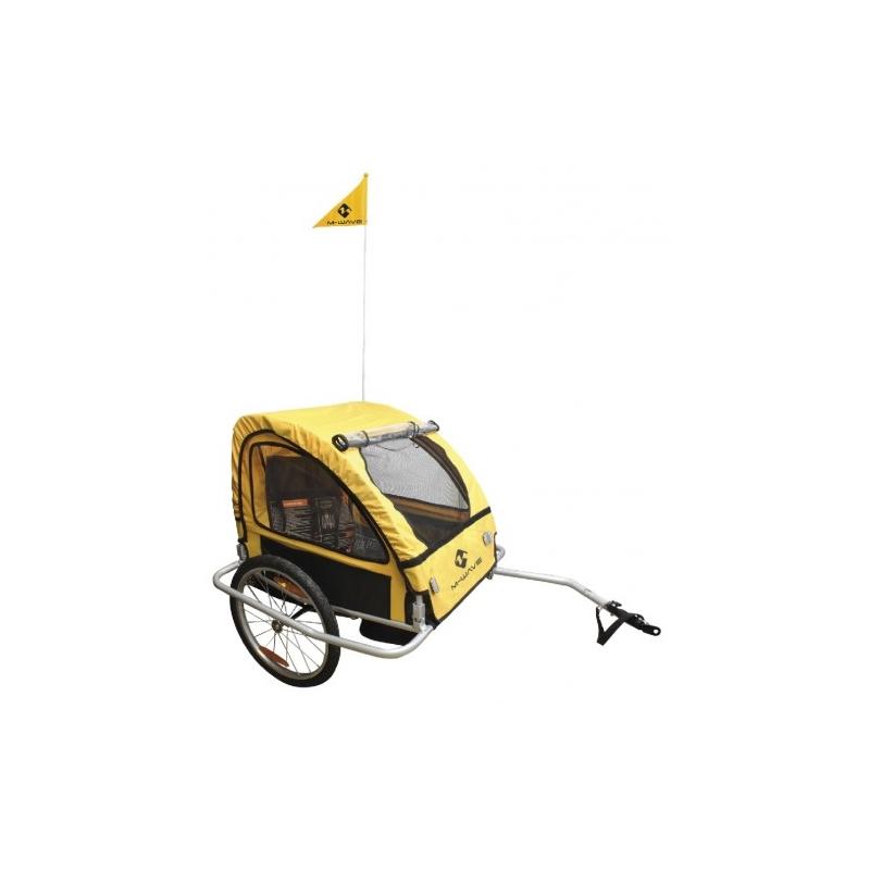 Τρέιλερ για την μεταφορά Παιδιών ή Αποσκευών M-Wave Alloy Dalavikas bikes